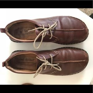 Leather Josef Seibel European Comfort Shoe fit a 9